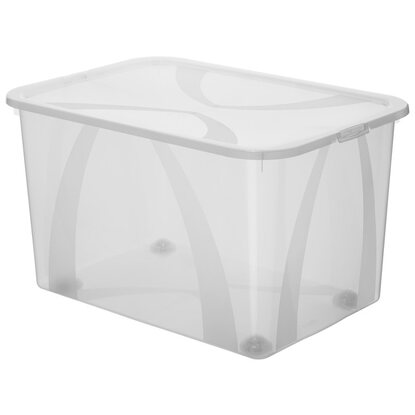 Rotho Clear Box Arco Maxi Transparent 51 l