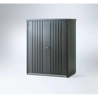 biohort ger teschrank dunkelgrau metallic kaufen bei obi. Black Bedroom Furniture Sets. Home Design Ideas