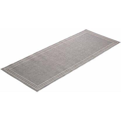 obi teppich tiana grau 80 cm x 180 cm kaufen bei obi. Black Bedroom Furniture Sets. Home Design Ideas