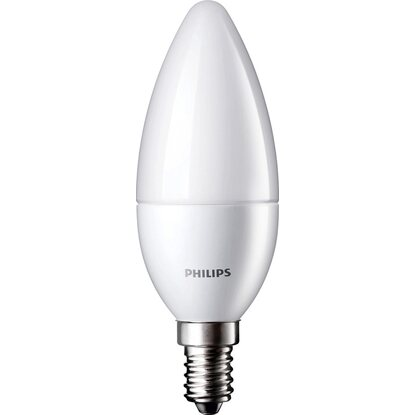 Philips LED-Lampe EEK: A+ Kerzenform E14 / 4 W (250 lm), Warmweiß
