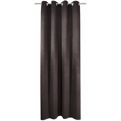 Ösenschal Blackout Leather Anthrazit 245 cm x 135 cm
