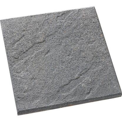terrassenplatte beton roccia anthrazit 40 cm x 40 cm x 3 8 cm kaufen bei obi. Black Bedroom Furniture Sets. Home Design Ideas