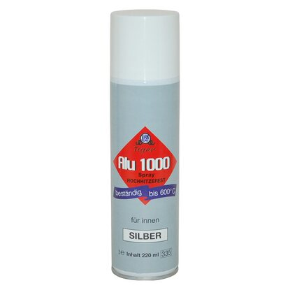 Alu 1000 Spray Silber 220 ml
