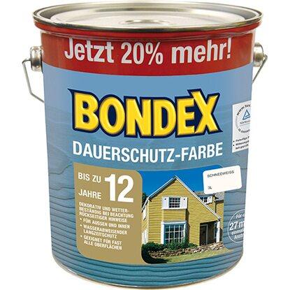 Holzfarbe Weiß bondex dauerschutz farbe weiß seidenglänzend 3 l kaufen bei obi