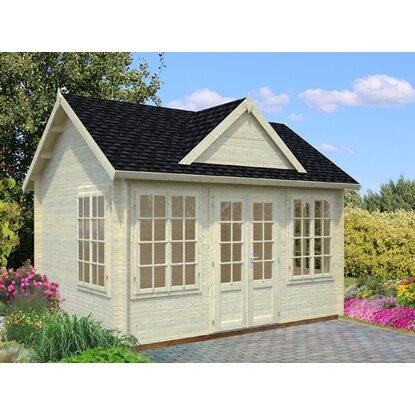 palmako holz gartenhaus claudia b xt 400 cm x 300 cm kaufen bei obi. Black Bedroom Furniture Sets. Home Design Ideas