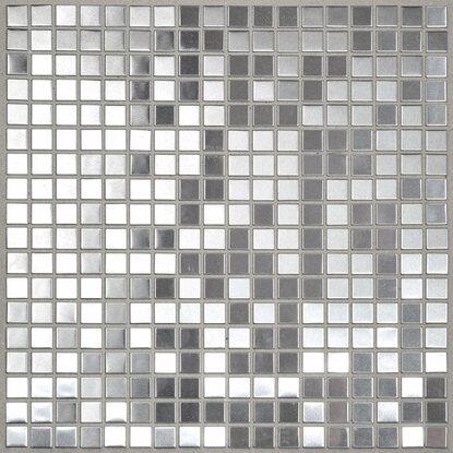 Mosaik Metall Edelstahl 30 cm x 30 cm kaufen bei OBI