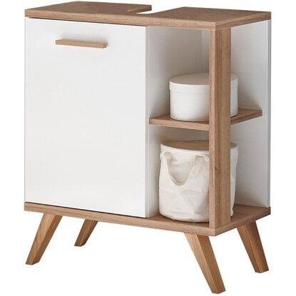 pelipal waschbeckenunterschrank noventa 65 cm x 60 5 cm x 33 cm wei eiche kaufen bei obi. Black Bedroom Furniture Sets. Home Design Ideas