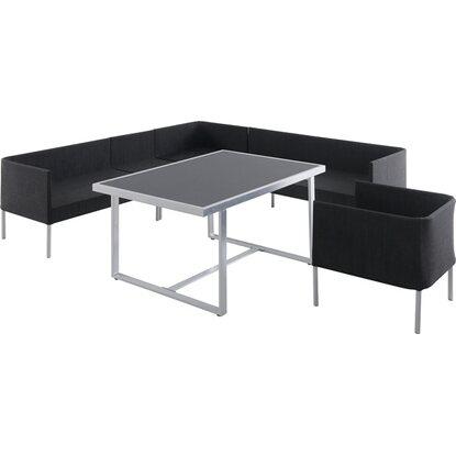 obi lounge gruppe harmon alu textil anthrazit 6 tlg kaufen bei obi. Black Bedroom Furniture Sets. Home Design Ideas