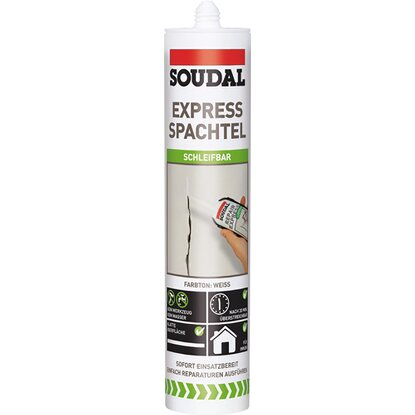 Soudal Express Spachtel Weiß 300 ml