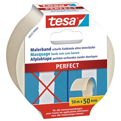 Tesa Malerband Perfect 50 m x 50 mm