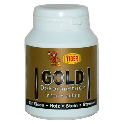 Gold Dekoranstrich 125 ml