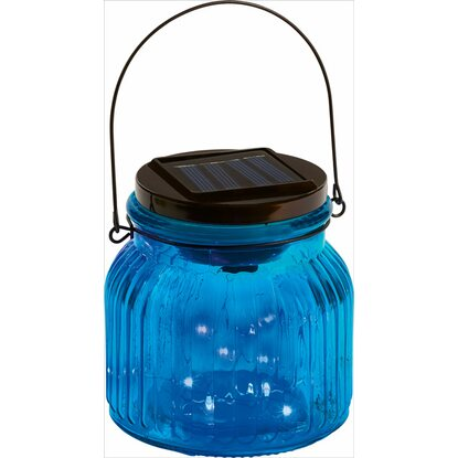 OBI LED-Dekoglas Marrubio Blau