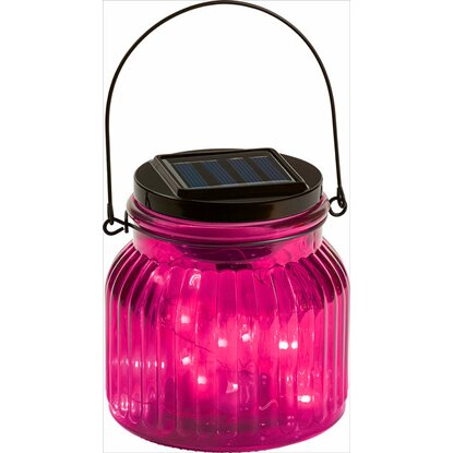 OBI LED-Dekoglas Marrubio Pink