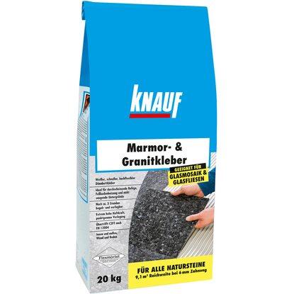 Knauf Marmor- & Granitkleber Weiß 20 kg kaufen bei OBI