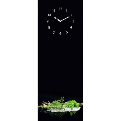 Eurographics Memoboard Time Board Black Mirror Herbs 30 cm x 80 cm