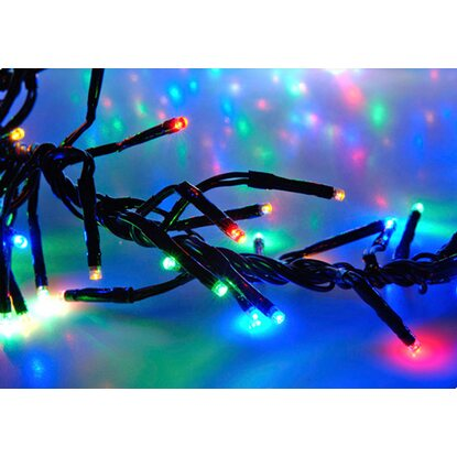 Outdoor Lichterkette 576 LED´s Bunt