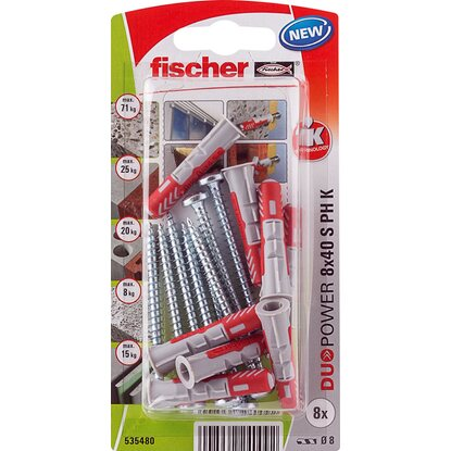 Fischer Duopower 8X40 S PH K NV