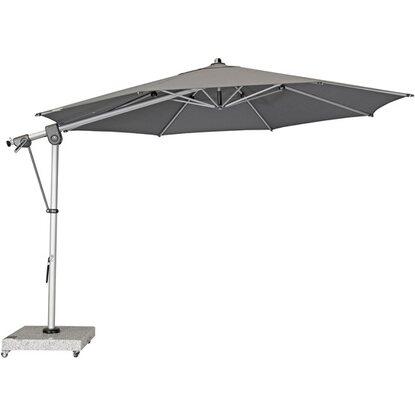 doppler sonnenschirm expert 350 cm anthrazit kaufen bei obi. Black Bedroom Furniture Sets. Home Design Ideas
