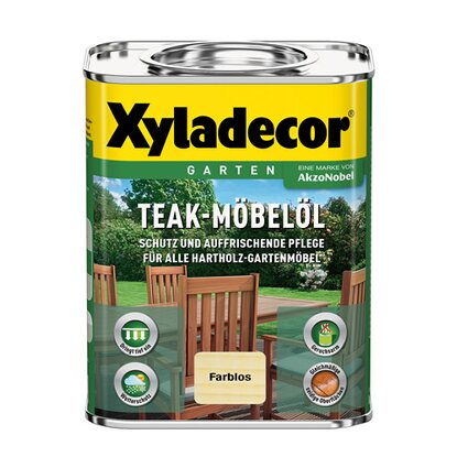 Xyladecor Teak-Möbelöl Transparent 750 ml