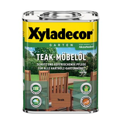 Xyladecor Teak-Möbelöl Teak 750 ml
