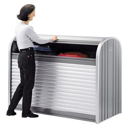 biohort storemax 190 quarzgrau metallic kaufen bei obi. Black Bedroom Furniture Sets. Home Design Ideas