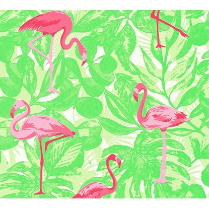 Finest Selection Vliestapete Flamingos