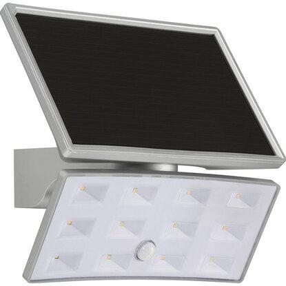telefunken solar au enleuchte mit bewegungsmelder 500 lm silber eek a kaufen bei obi. Black Bedroom Furniture Sets. Home Design Ideas