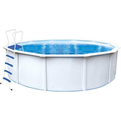 Steinbach stahlwand pool set nuovo de luxe ii 360 cm x 120 cm mit filteranlage kaufen bei obi - Pool mit filteranlage ...