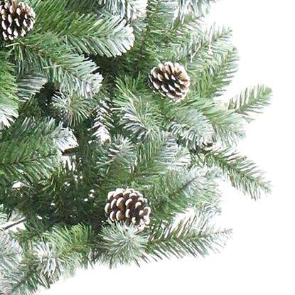 k nstlicher weihnachtsbaum 150 cm gefrostet kaufen bei obi. Black Bedroom Furniture Sets. Home Design Ideas