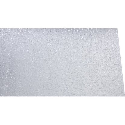 "Polystyrol-Platte 2,5 mm ""Tropfen"" Transparent 1000 mm x 500 mm"