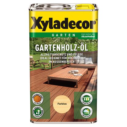 Xyladecor Gartenholz-Öl Transparent 2,5 l