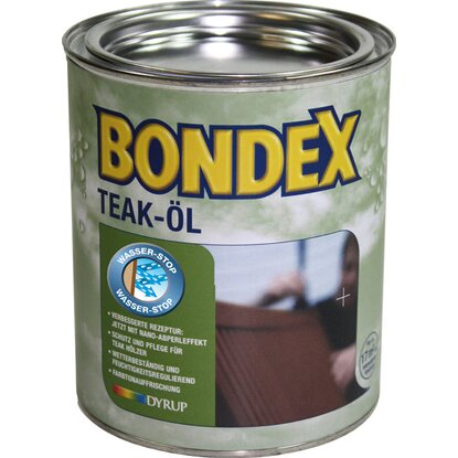 Bondex Teak-Öl Transparent 750 ml