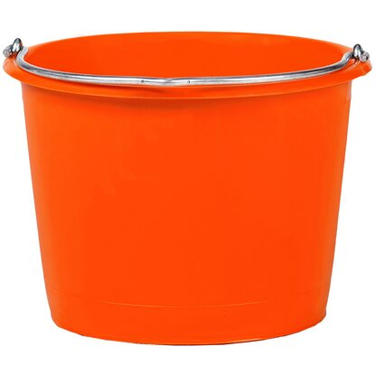 Baueimer kranbar Orange 20 l