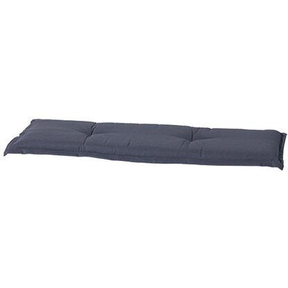 Madison Bankauflage Outdoor Panama Grau 120 cm x 48 cm