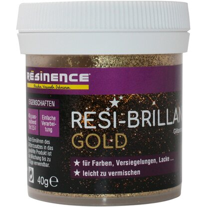 Resinence Resi-Brillant Glitzerzusatz Gold 40 g
