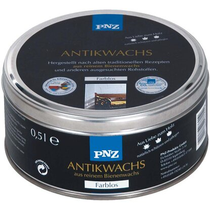 PNZ Antikwachs Transparent 500 ml