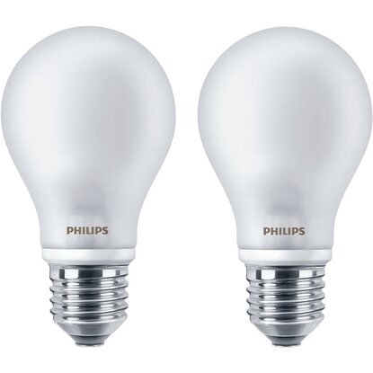 Philips LED Lampe E27 Matt EEK: A++