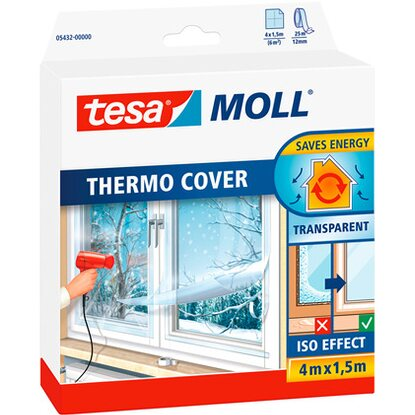 Tesamoll Thermo Cover Fensterisolierfolie 4 m