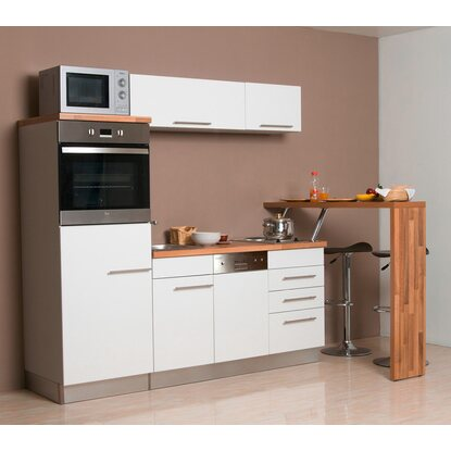 k chenblock cucina compact 200 cm mit tresen kaufen bei obi. Black Bedroom Furniture Sets. Home Design Ideas