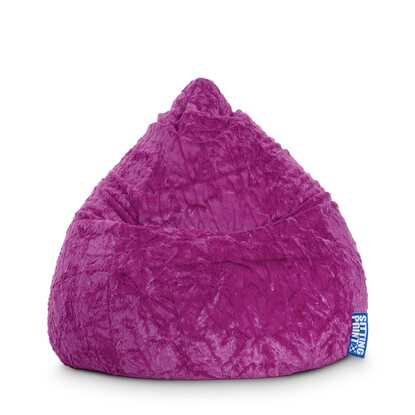 Sitting Point Sitzsack Fluffy 120 l Lila