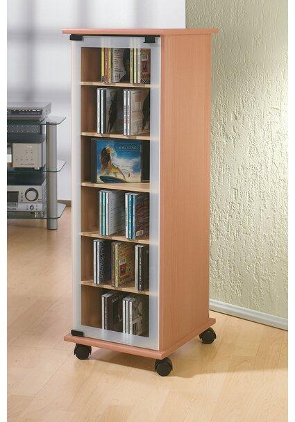VCM CD/DVD Möbel Valenza buche-Nachbildung