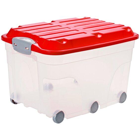rotho universalbox roller 6 rubinrot 57 l im obi online shop. Black Bedroom Furniture Sets. Home Design Ideas