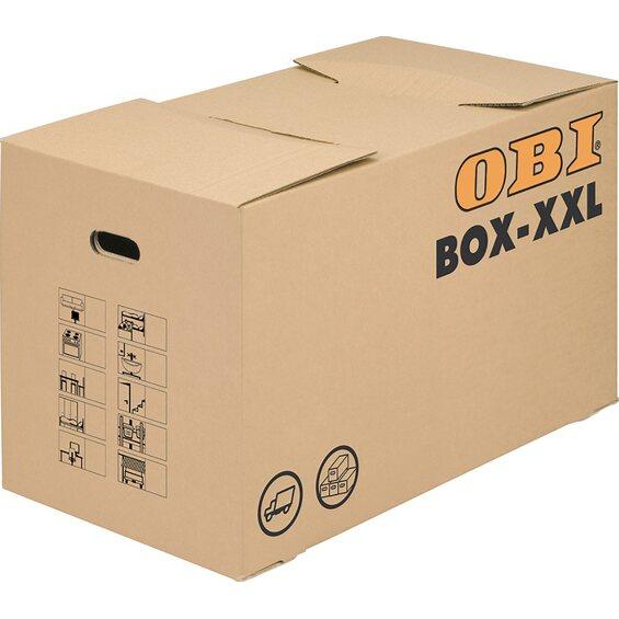 obi umzugskarton box xxl im obi online shop. Black Bedroom Furniture Sets. Home Design Ideas