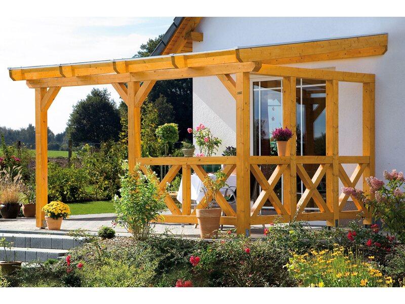 skan holz terrassen berdachung andria 434 cm x 300 cm kaufen bei obi. Black Bedroom Furniture Sets. Home Design Ideas