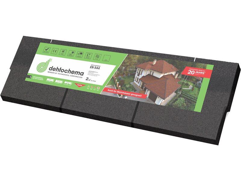Bitumen rechteckschindel schwarz 2 qm paket kaufen bei obi - Fliesenkleber auf bitumen ...