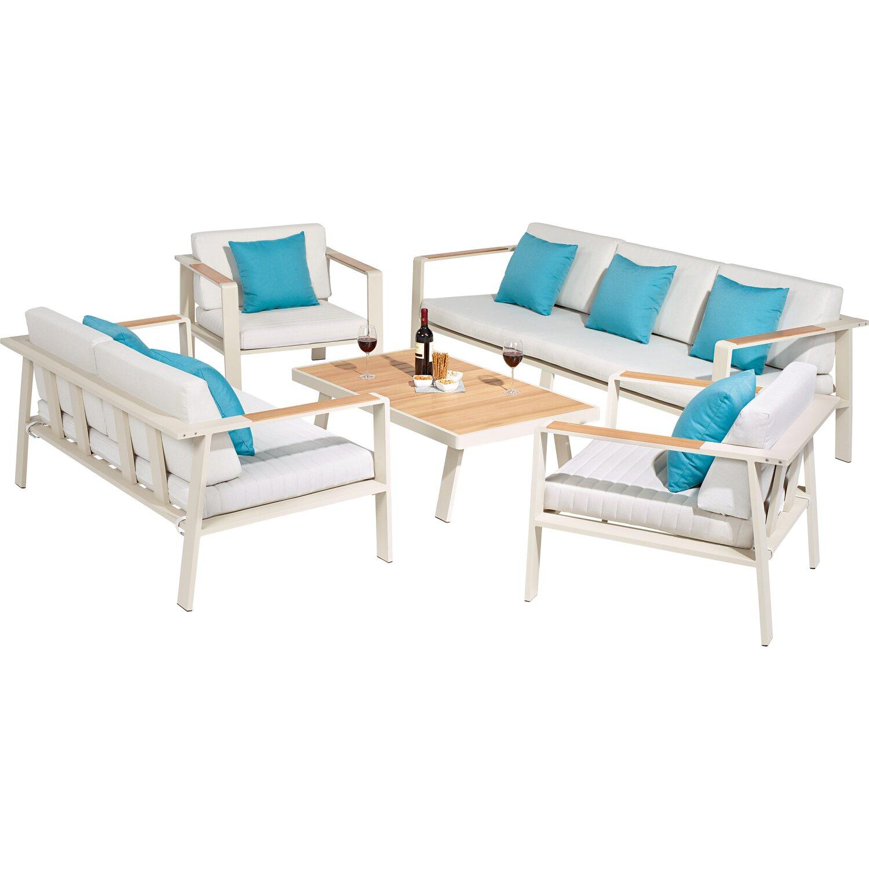 obi lounge gruppe north valley alu olefin 5 tlg kaufen bei obi. Black Bedroom Furniture Sets. Home Design Ideas