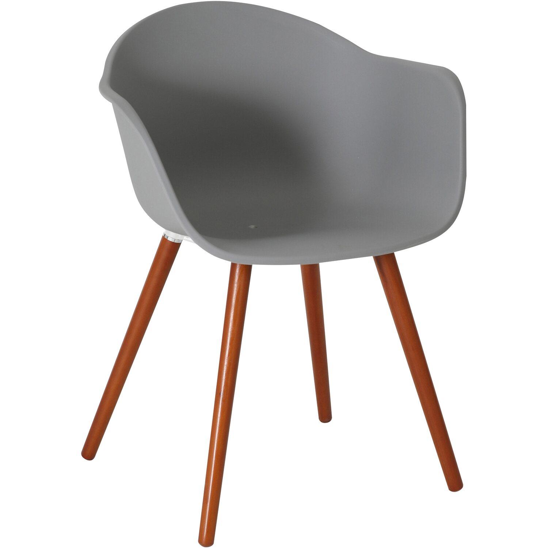 Greemotion Design-Gartenstuhl Derby Kunststoff Grau kaufen