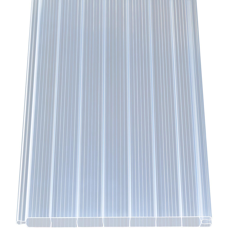 pvc hohlkammerpaneele 1 6 cm transparent 200 cm x 20 cm kaufen bei obi. Black Bedroom Furniture Sets. Home Design Ideas