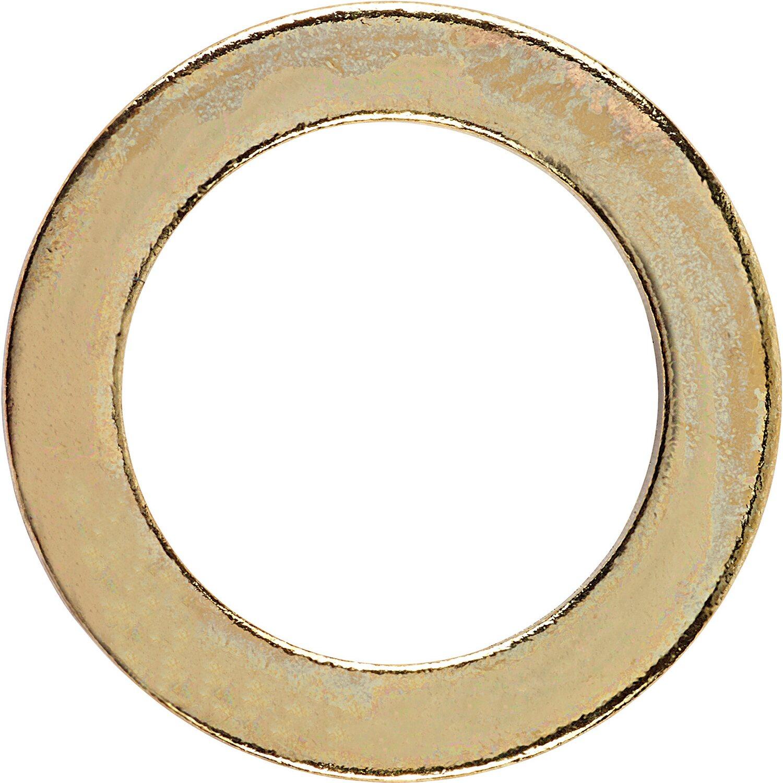 LUX Fitschenring Ø 11 mm Vermessingt 12 Stück