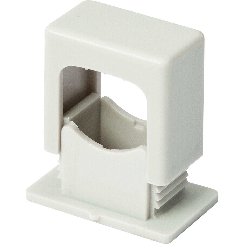 obi iso druckschelle mit befestigung 6 mm x 16 mm hellgrau 35 st ck kaufen bei obi. Black Bedroom Furniture Sets. Home Design Ideas